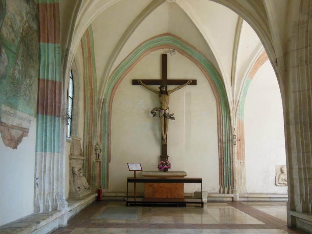 Iglesia de Santa Catalina de Alejandría en Cracovia.