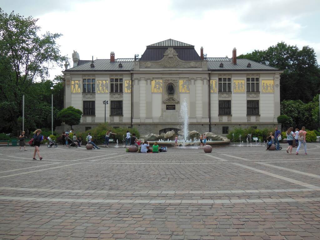 Palacio de las Artes de Cracovia.