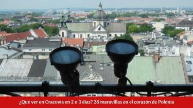 ¿Qué ver en Cracovia en 2 o 3 días?