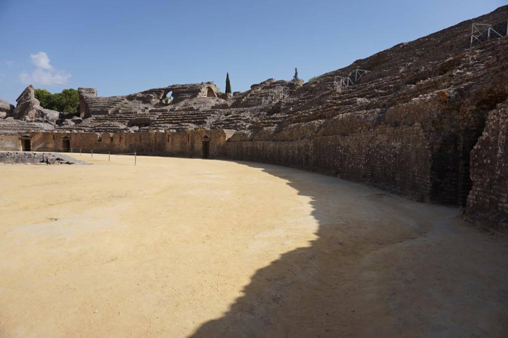 Anfiteatro romano de Itálica en Juego de Tronos