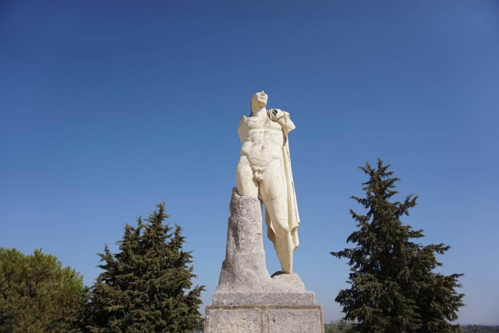 Escultura en Itálica