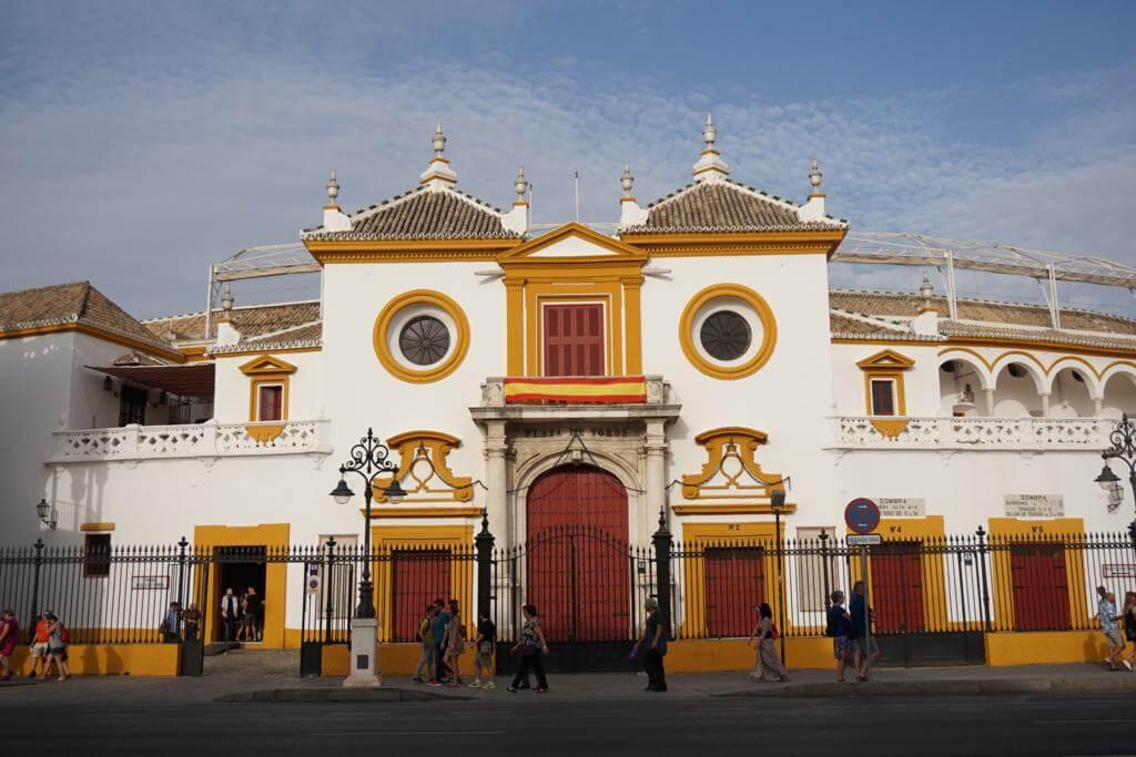 ¿Qué ver en Sevilla en un día? Plaza de Toros de la Maestranza