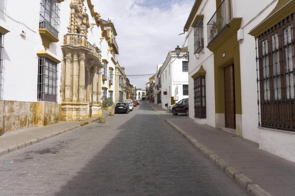 Calle San Pedro en Osuna.