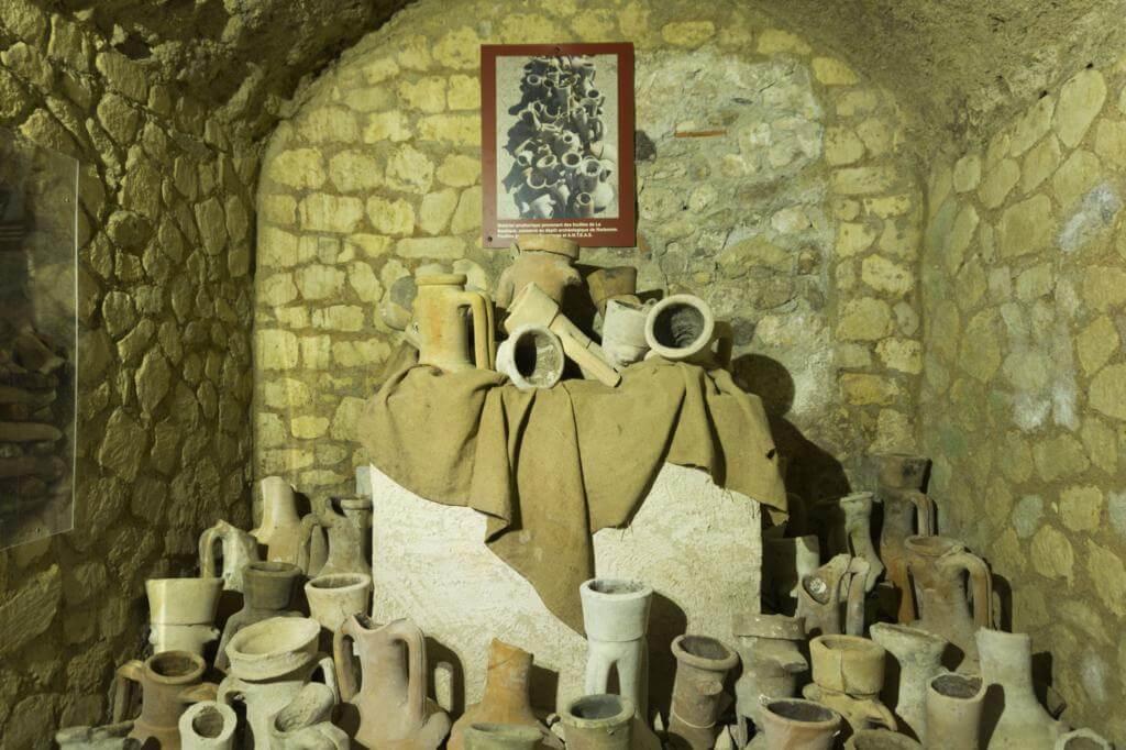Anforas del Horreum Romano de Narbona