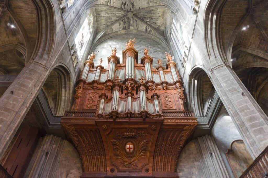 Órgano de la Catedral de Narbona