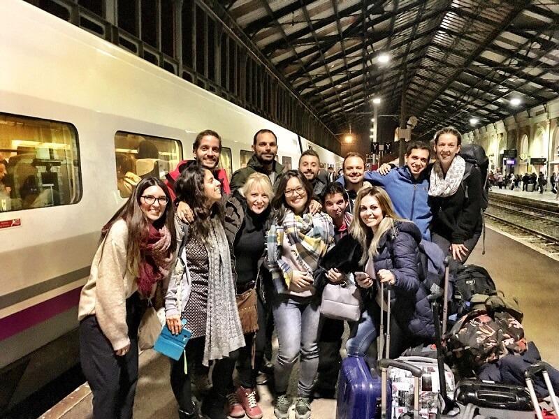 El equipo de Tu Blog de Viajes y los chicos de Tryptic