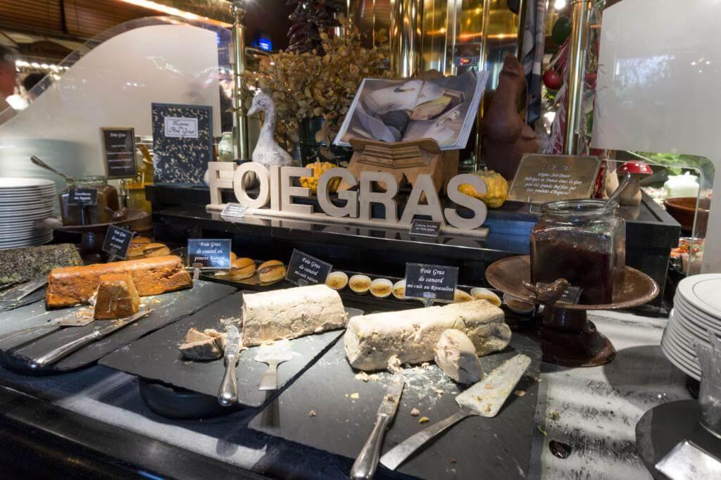 Foiegras en Les Grands Buffets