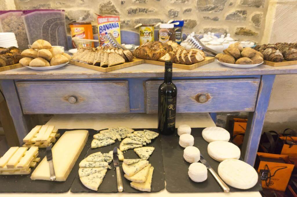 Pan y quesos de Tresors d'Occitanie