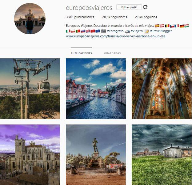 Europeos Viajeros: Follow Unfollow en Instagram