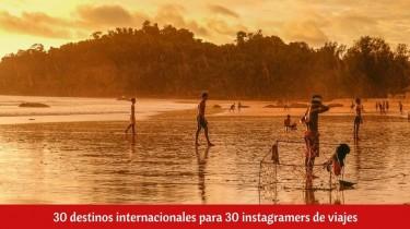 30 destinos internacionales para 30 instagramers de viajes