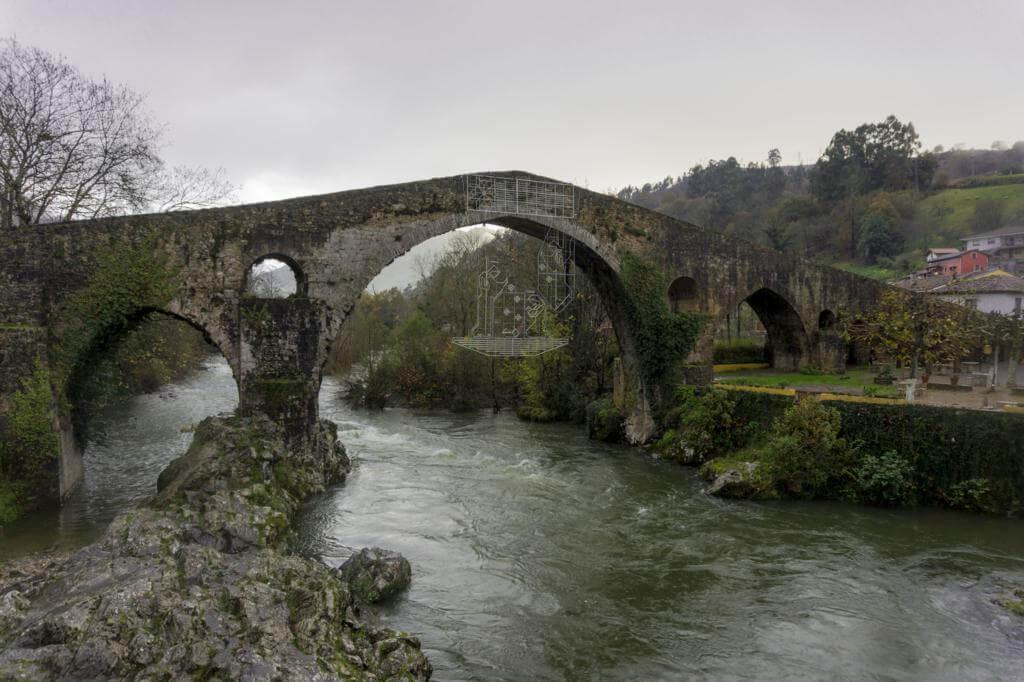 Puente Romano en Cangas de Onís.