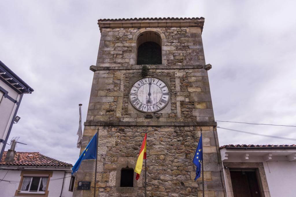 Torre del Reloj de Lastres.