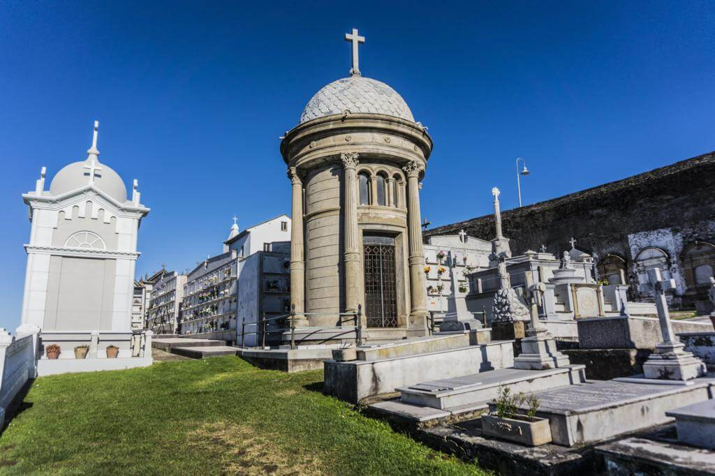 Cementerio de Luarca.