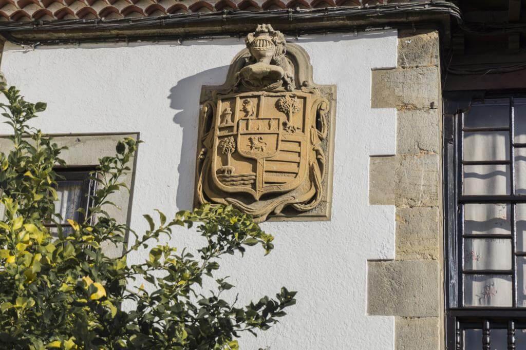Escudo de armas de María Veiga.