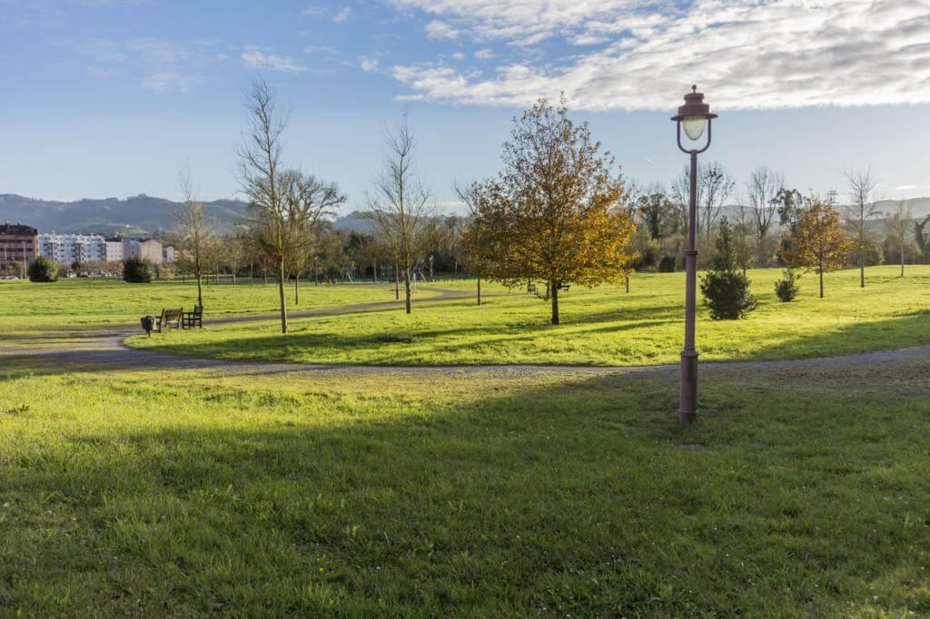 Parque de Villaviciosa (Asturias).