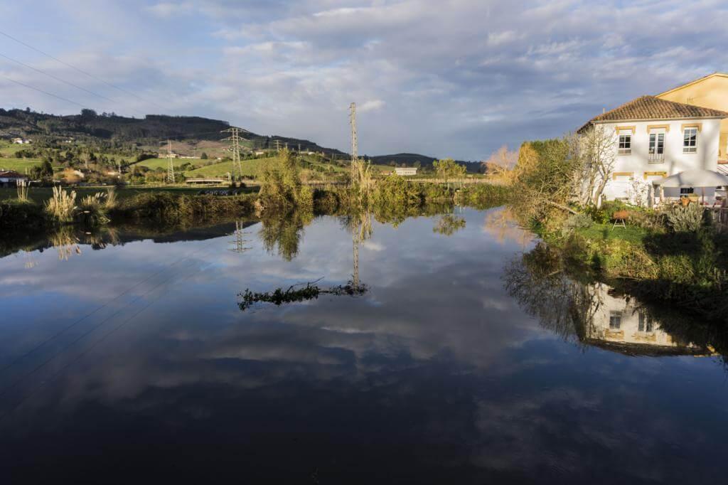Ría de Villaviciosa (Asturias).