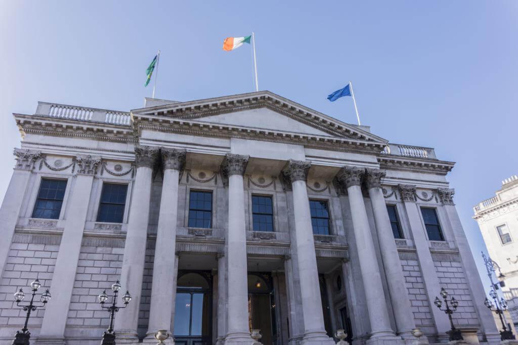 Ayuntamiento de Dublín.