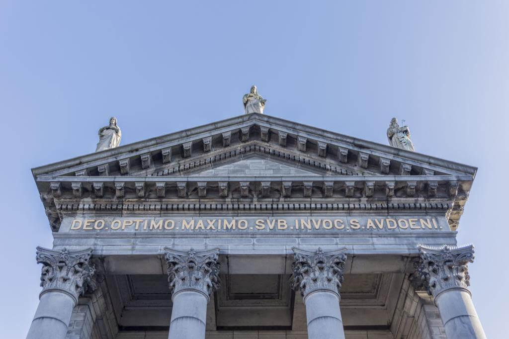 ¿Qué ver en Dublín en dos días? Iglesia de San Audoen.