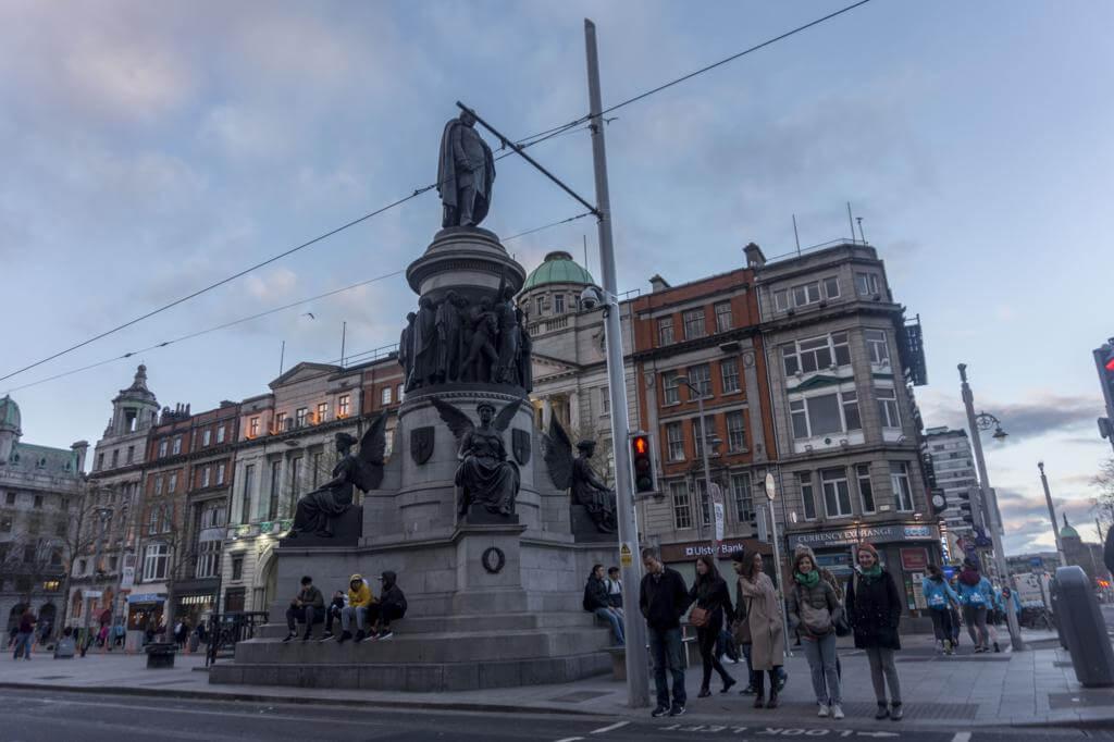 Monumento a Daniel O'Connell.