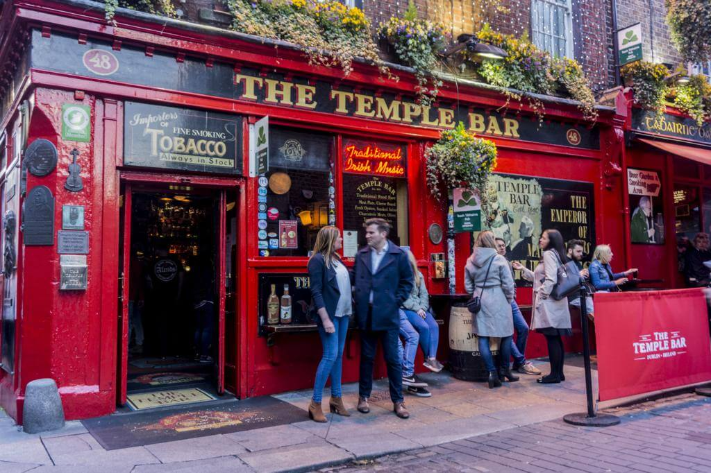 Temple Bar.