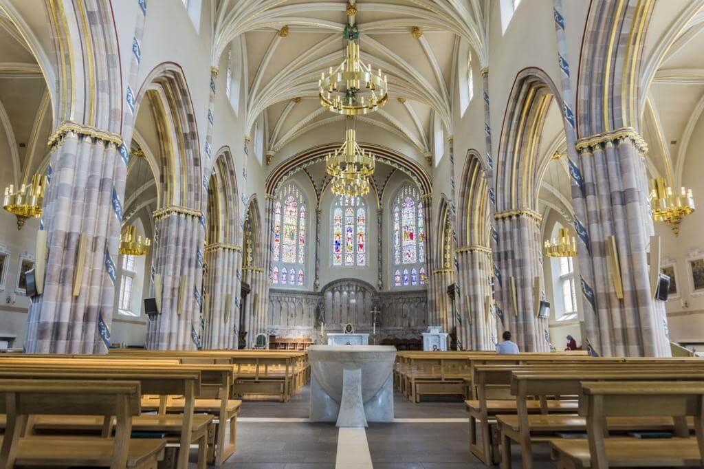 Catedral de San Andrés de Glasgow.