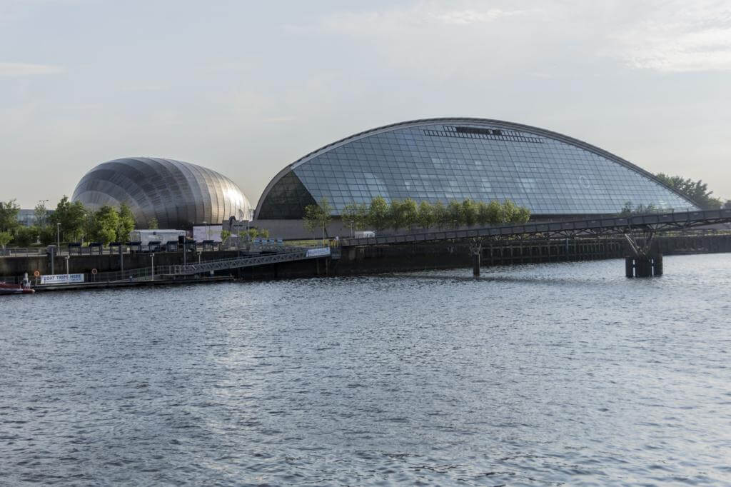 Glasgow Science Centre.