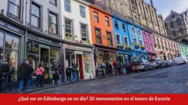 ¿Qué ver en Edimburgo en un día?