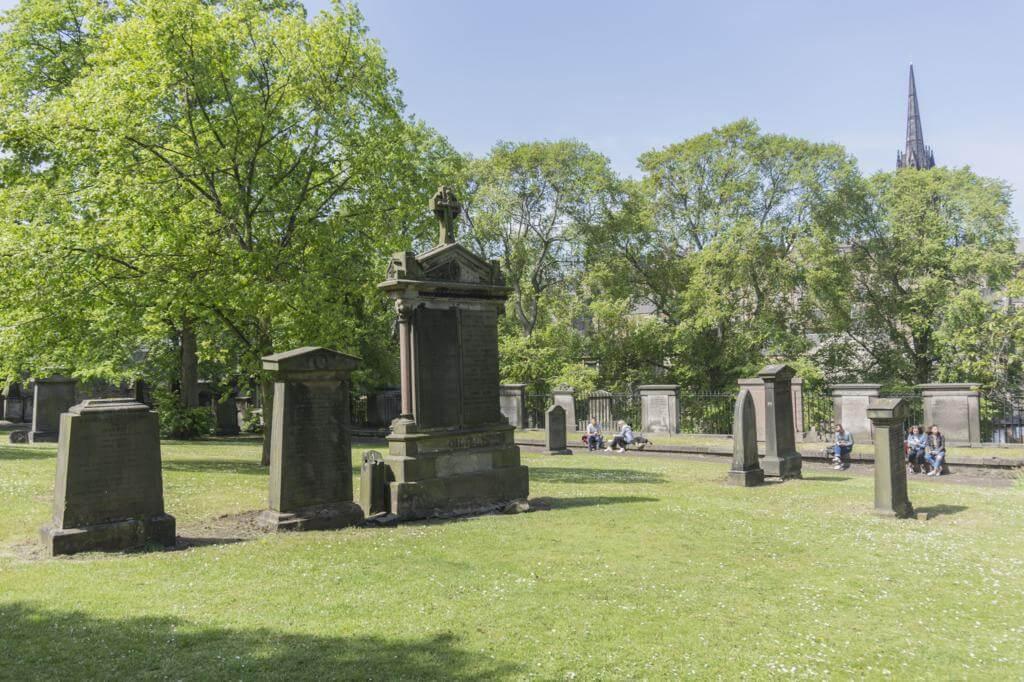 Cementerio de Greyfriars.