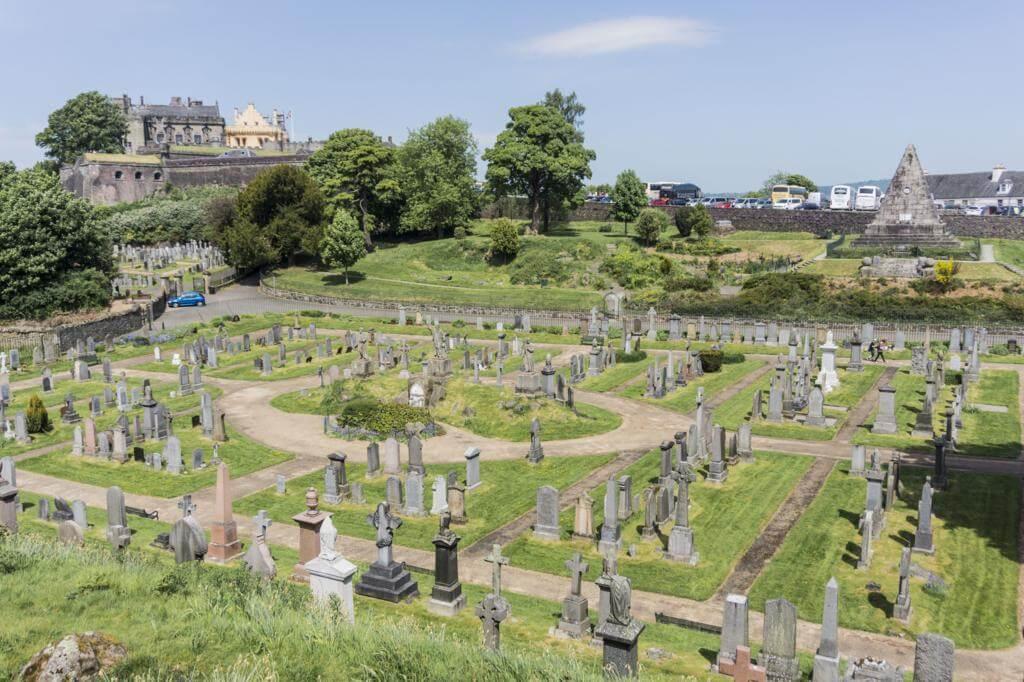 Cementerio de Stirling.