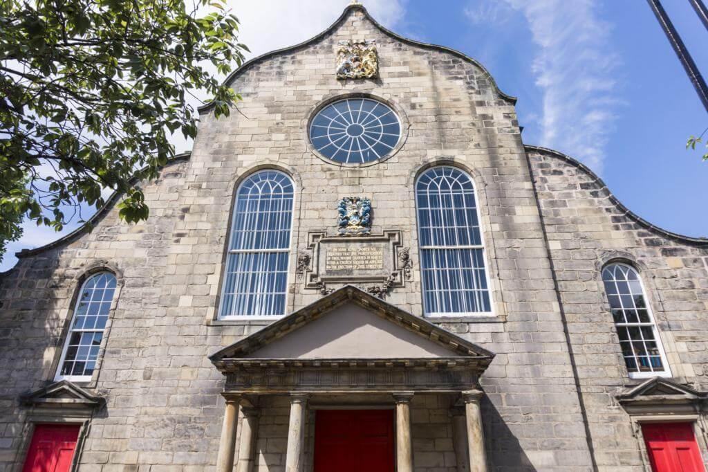 Iglesia de Canongate.