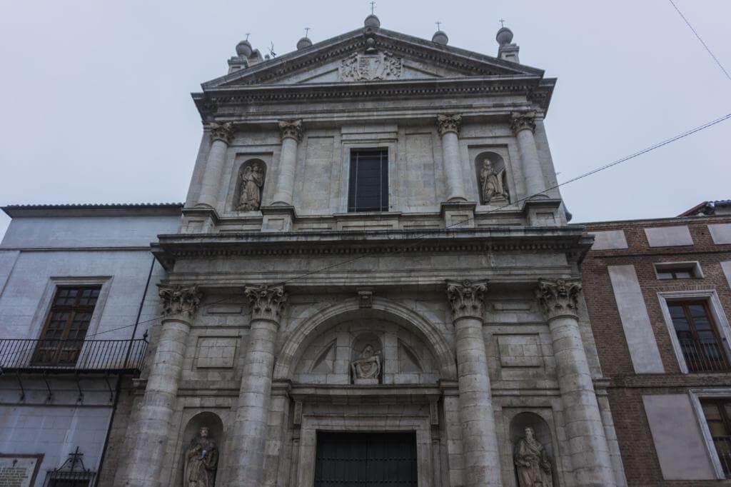 ¿Qué ver en Valladolid en un día? Iglesia de Nuestra Señora de las Angustias.