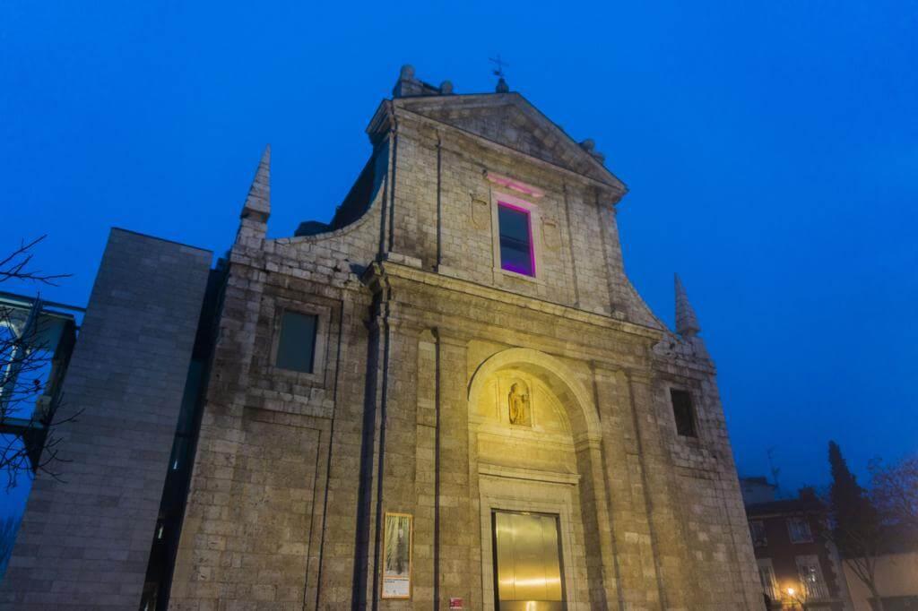 Iglesia de San Agustín en Valladolid.