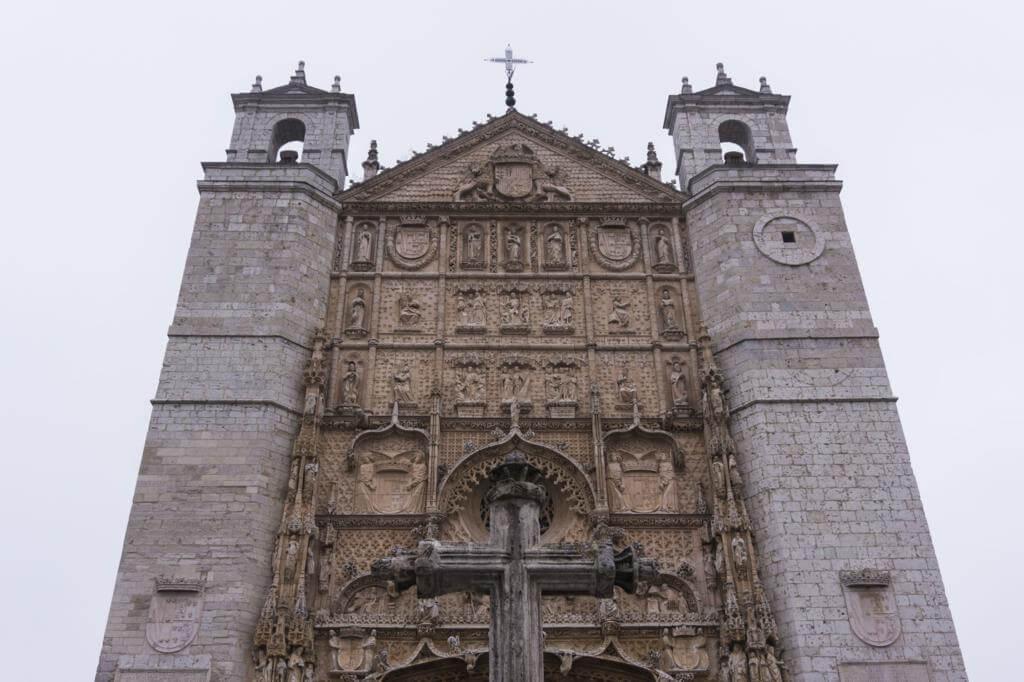 Iglesia de San Pablo en Valladolid.