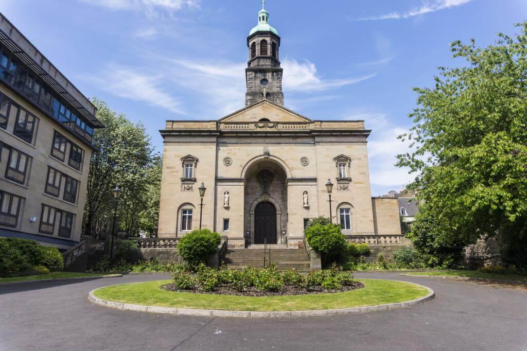 Iglesia de San Patricio de Edimburgo.