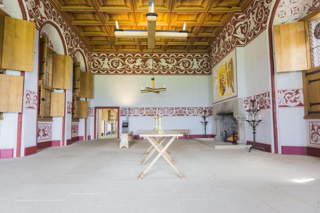 Interior del Castillo de Stirling.
