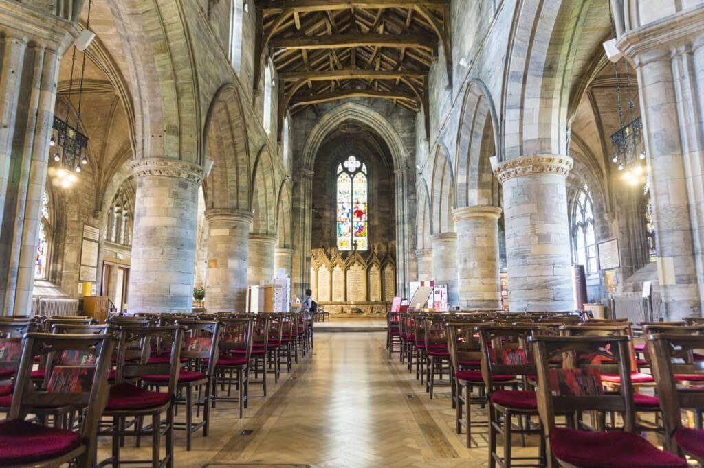 ¿Qué ver en Stirling en un día? Iglesia de la Holy Rude.