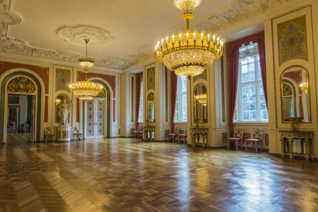 Palacio de Amalienborg.