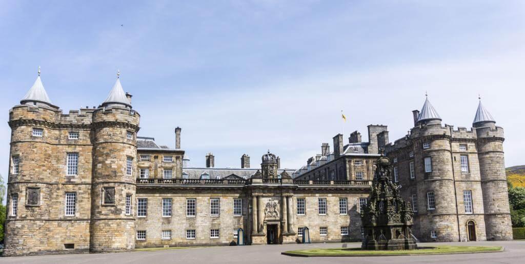 Palacio de Holyrood House.