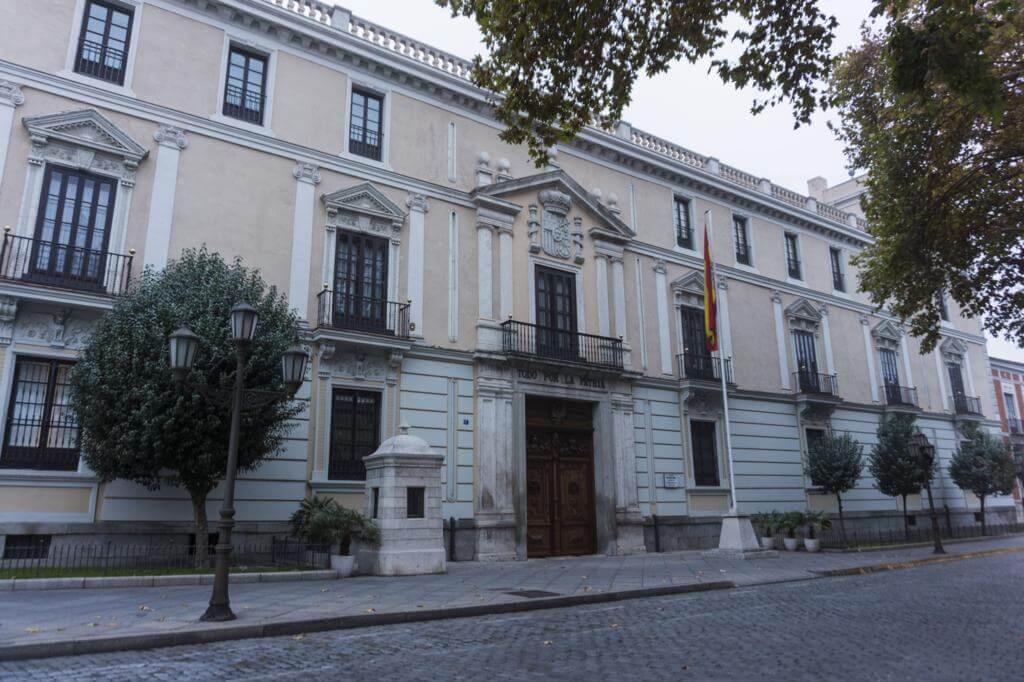 Palacio Real de Valladolid.