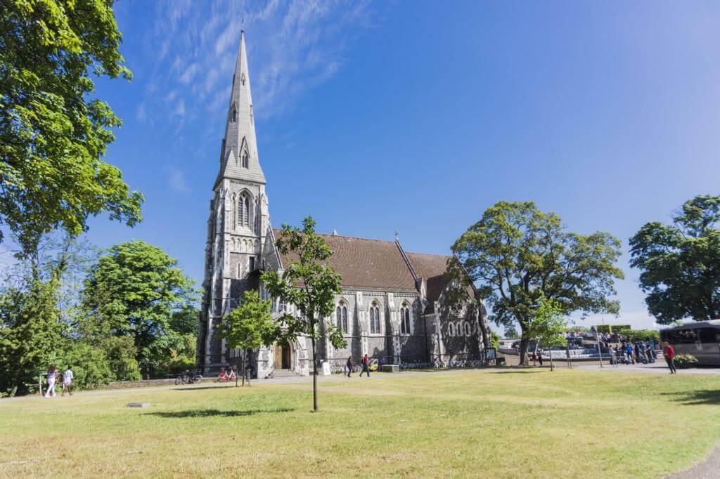 Sankt Albans Kirke.