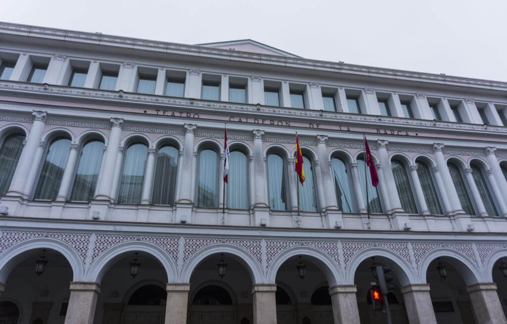 Teatro Calderón de Valladolid.