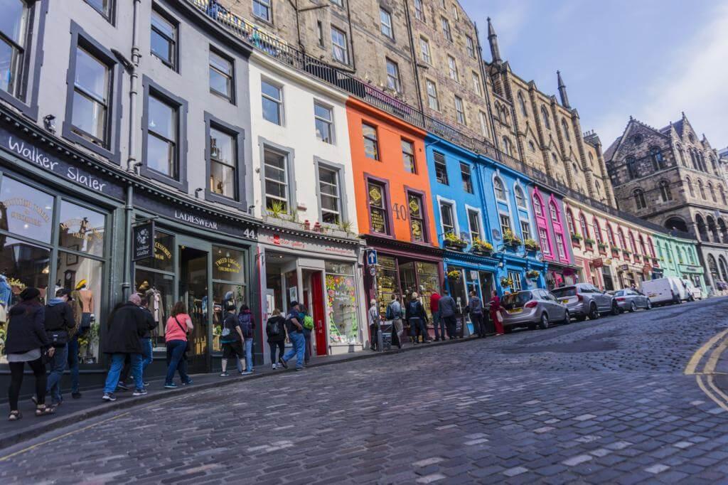 Victoria Street Edimburgo.