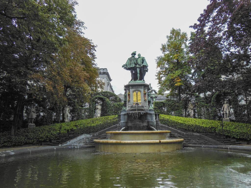 The Egmont Park.