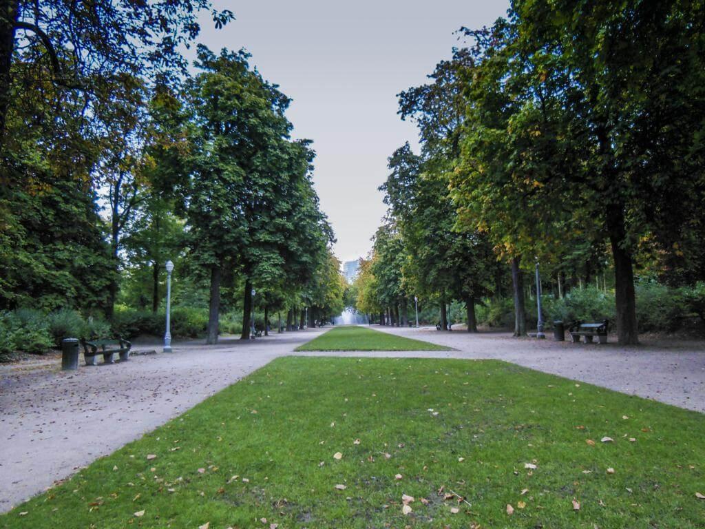 Parque de Bruselas.
