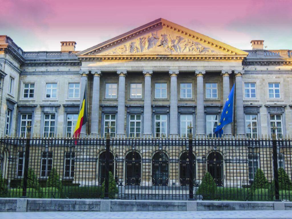 Palacio de la Nación de Bruselas.