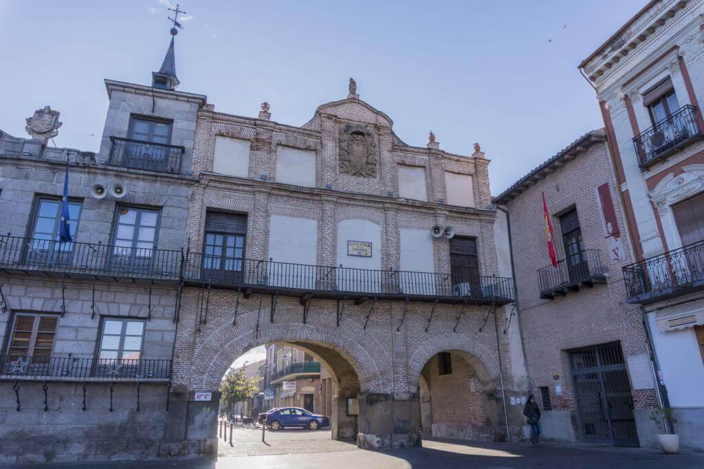 Casa de los Arcos de Medina del Campo.