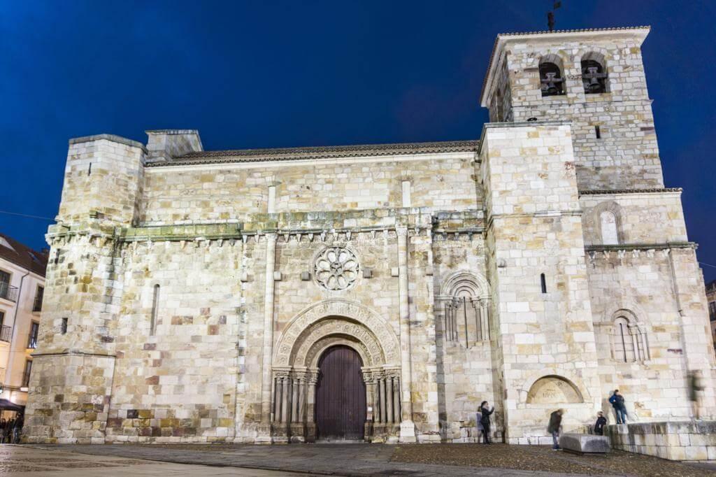 Iglesia de San Juan Bautista en Zamora.