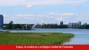 Espoo, la moderna y ecológica ciudad de Finlandia