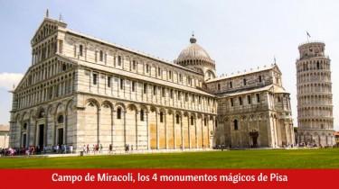Campo de Miracoli en Pisa