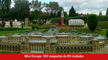 Mini Europe en Bruselas (Bélgica)